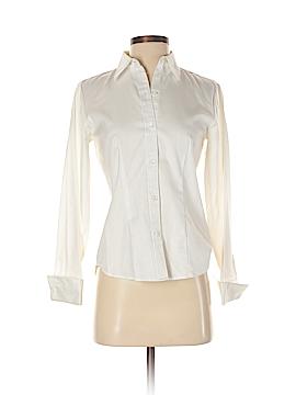 Ann Taylor Long Sleeve Button-Down Shirt Size 2 (Petite)