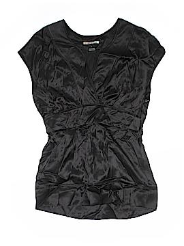 Mac & Jac Short Sleeve Silk Top Size 4