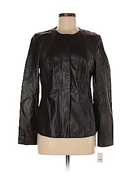 Brooks Brothers Leather Jacket Size 6