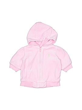 Ralph Lauren Zip Up Hoodie Size 3 mo