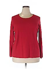 Roz & Ali Women Pullover Sweater Size 3X (Plus)