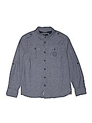 Buffalo by David Bitton Boys Long Sleeve Button-Down Shirt Size M (Youth)