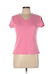 Eagle's Eye Women Short Sleeve T-Shirt Size L