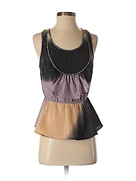 Plenty By Tracy Reese Sleeveless Silk Top Size S