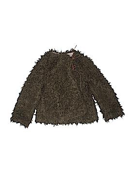 Anais & I Faux Fur Vest Size 6