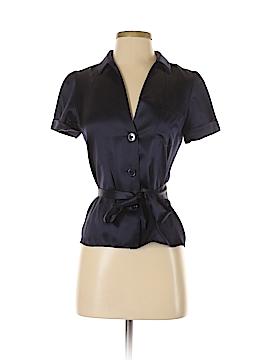 Vanessa Bruno Short Sleeve Silk Top Size 38 (EU)