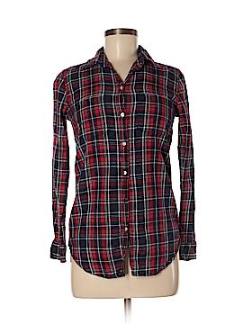 Joe Fresh Long Sleeve Button-Down Shirt Size XS