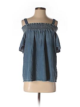 Current/Elliott Short Sleeve Blouse Size Sm (1)