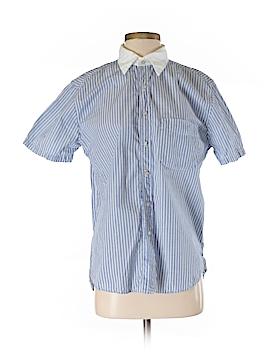 NSF Short Sleeve Button-Down Shirt Size M
