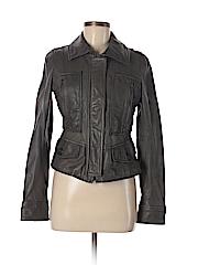 Ann Taylor LOFT Women Leather Jacket Size 6