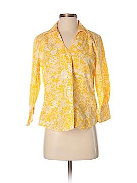 Coldwater Creek Long Sleeve Button-Down Shirt Size XS (Petite)