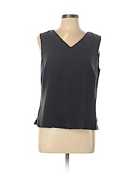 Alex Garfield Sleeveless Silk Top Size L