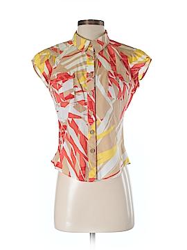 Diane von Furstenberg Short Sleeve Blouse Size 4