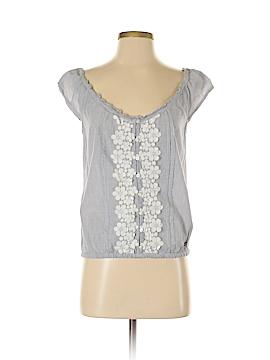 Holistia Sleeveless Button-Down Shirt Size M