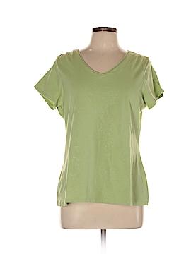 Mandarin Blue Short Sleeve T-Shirt Size 1X (Plus)
