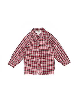 Strasburg Long Sleeve Button-Down Shirt Size 2