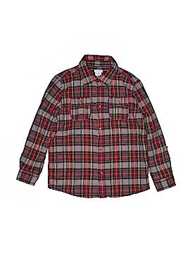 Joe Fresh Long Sleeve Button-Down Shirt Size 12