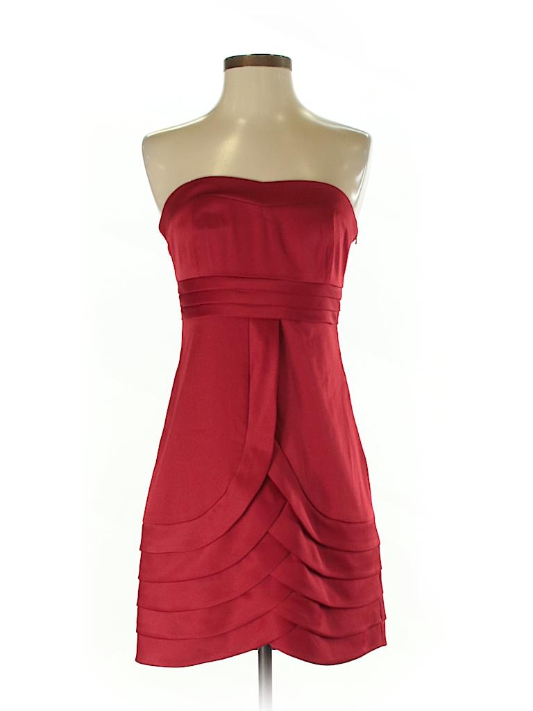 Kensie Solid Red Cocktail Dress Size S 91 Off Thredup