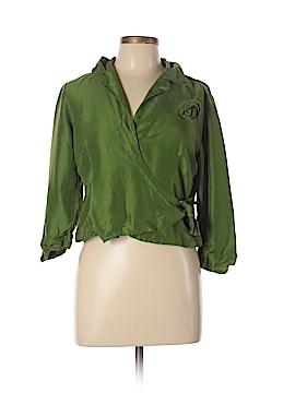 Allison Taylor 3/4 Sleeve Silk Top Size 10