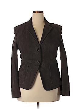 J. Crew Leather Jacket Size 14