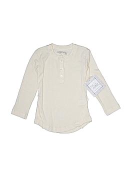 Jak & Peppar Long Sleeve Henley Size 4