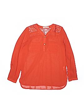 GB Girls 3/4 Sleeve Blouse Size X-Large (Youth)
