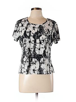 Zena Essentials Short Sleeve Blouse Size XL (Petite)
