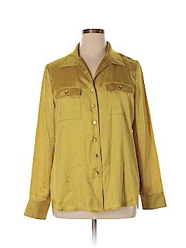 Travelsmith Long Sleeve Blouse Size XL