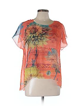 Style&Co Short Sleeve Blouse Size L (Petite)