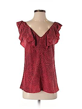 Geren Ford Short Sleeve Silk Top Size S