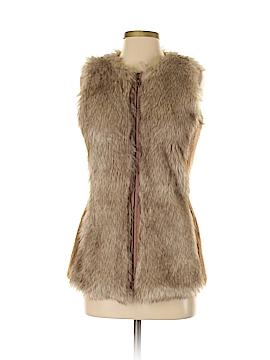 J. McLaughlin Faux Fur Vest Size XS