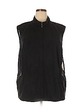 Karen Scott Vest Size 3X (Plus)