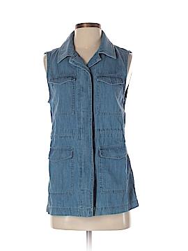 Ann Taylor LOFT Outlet Sleeveless Button-Down Shirt Size XS