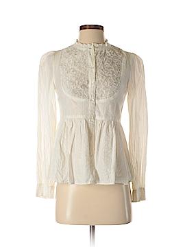 Floreat Long Sleeve Button-Down Shirt Size 4
