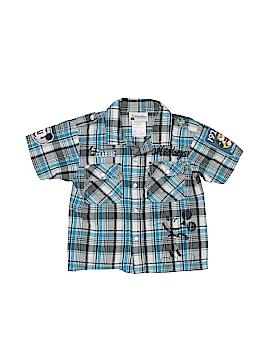 Disney Parks Short Sleeve Button-Down Shirt Size X-Small  (Kids)