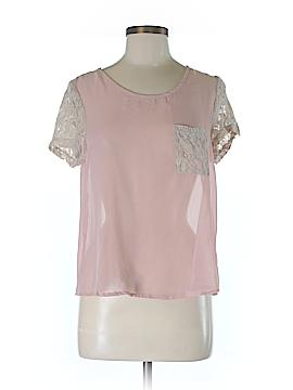 Annabella Short Sleeve Blouse Size M