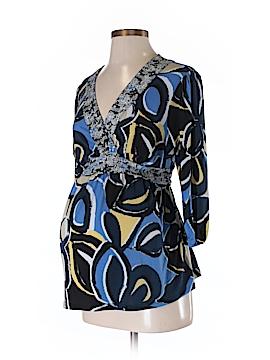 Liz Lange Maternity 3/4 Sleeve Top Size XS (Maternity)
