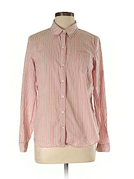 IZOD Long Sleeve Button-Down Shirt Size L