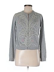 White + Warren Women Wool Cardigan Size M