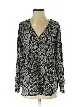 Joie a La Plage Long Sleeve Silk Top Size XS