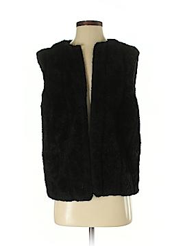 Dennis Basso Faux Fur Vest Size S