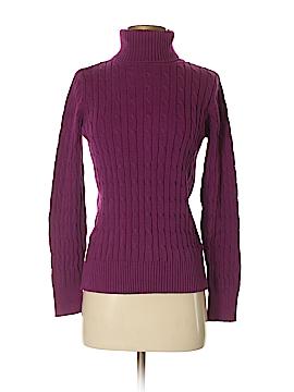 St. John's Bay Women Turtleneck Sweater Size S
