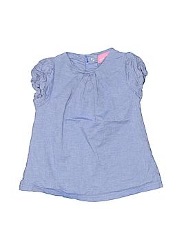 Isaac Mizrahi Short Sleeve Blouse Size 9 mo