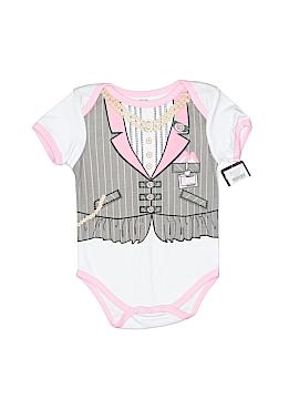 Mon Cheri Baby Short Sleeve Onesie Size 3-6 mo