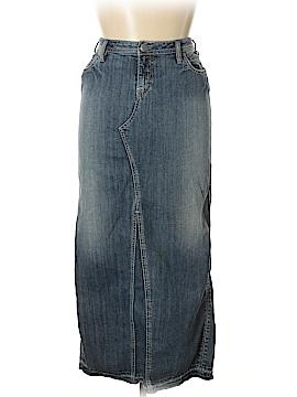 Silver Jeans Co. Denim Skirt 33 Waist