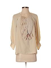 Ali Ro Women 3/4 Sleeve Blouse Size 4