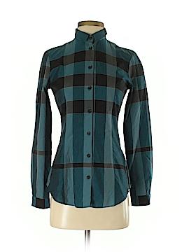 Burberry Long Sleeve Button-Down Shirt Size 2