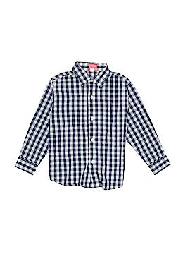 IZOD Long Sleeve Button-Down Shirt Size 4T