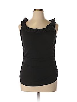 Tahari Sleeveless Top Size L (Petite)