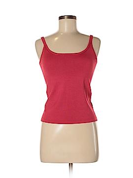 Linda Allard Ellen Tracy Sleeveless Silk Top Size P